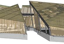 Holzskelettbau architektur  Referenzen Holzbau / Martin Malangeri - Planen und Bauen mit Holz
